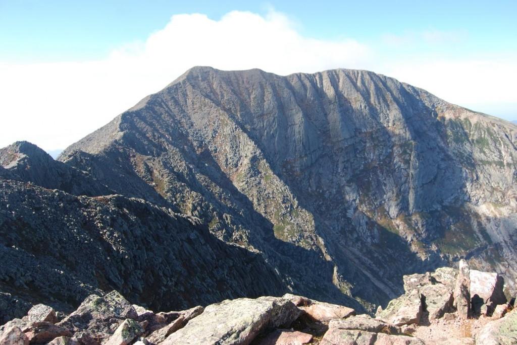 Pamola Peak view across the Knife's Edge